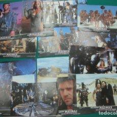 Cine: MAD MAX MAS ALLA DE LA CUPULA DEL TRUENO. LOS 15 FOTOCROMOS LOBY-CARDS DE LA PELICULA. MADMAX. Lote 178260791