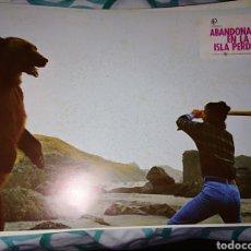 Cine: ABANDONADOS EN LA ISLA PERDIDA 10 FOTOCROMOS ORIGINALES Q. Lote 178585685