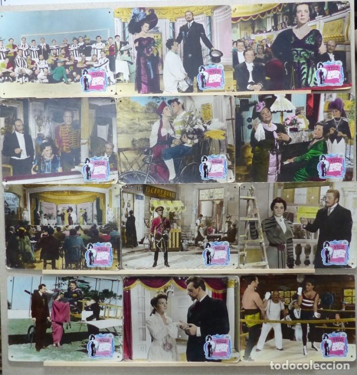 AQUELLOS TIEMPOS DEL CUPLE, LILIAN DE CELIS - SET 15 FOTOCROMOS DE CARTON (Cine - Fotos, Fotocromos y Postales de Películas)