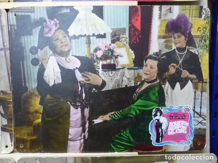Cine: AQUELLOS TIEMPOS DEL CUPLE, LILIAN DE CELIS - SET 15 FOTOCROMOS DE CARTON - Foto 6 - 178603240