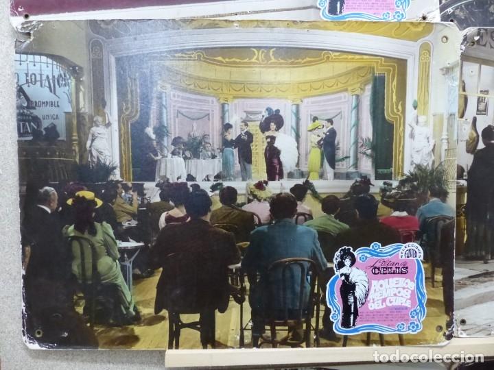 Cine: AQUELLOS TIEMPOS DEL CUPLE, LILIAN DE CELIS - SET 15 FOTOCROMOS DE CARTON - Foto 9 - 178603240