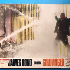 Cine: JAMES BOND 007 CONTRA GOLDFINGER, SEAN CONNERY - 1 FOTOCROMO DE CARTON - AÑOS 1970. Lote 178851355