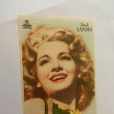 Cine: CAROLE LANDIS CIFESA - DENTICHLOR. . Lote 178893435