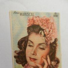Cine: ANA MARISCAL CIFESA - CON FIRMA - DENTICHLOR. . Lote 178893881