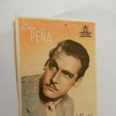 Cine: LUIS PEÑA CIFESA - CON FIRMA - CASINO CINEMA. . Lote 178894561