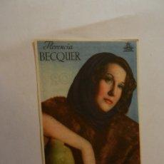 Cine: FLORENCIA BECQUER CIFESA - CON FIRMA - DENTICHLOR. . Lote 178895267