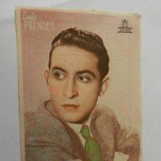 Cine: LUIS PRENDES CIFESA - CON FIRMA - CINE PLAZA DE TOROS. . Lote 178896070