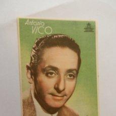 Cine: ANTONIO VICO CIFESA - CON FIRMA - DENTICHLOR. . Lote 178896358