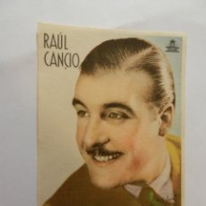 Cine: RAÚL CANCIO CIFESA - CON FIRMA.. Lote 178898041