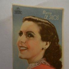 Cine: BLANCA DE SILOS CIFESA - CON FIRMA.. Lote 178898108