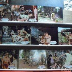 Cine: MACISTE CONTRA LOS MONSTRUOS. JUEGO COMPLETO DE 10 FOTOCROMOS.. Lote 179013443