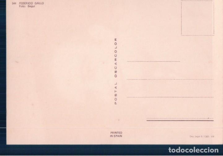 Cine: FEDERICO GALLO, Locutor de Radio, Postal Oscarcolor 544 -- Vell i Bell - Foto 2 - 179097341