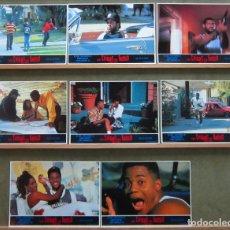 Cine: QU06 LOS CHICOS DEL BARRIO CUBA GOODING JR ICE-T SET COMPLETO 8 FOTOCROMOS ORIGINAL ESTRENO. Lote 213640320