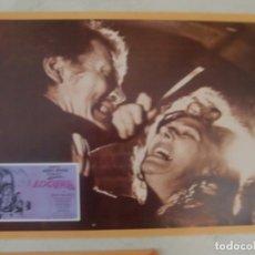 Cine: LOCURA / JACK PALANCE, FREDDIE FRANCIS / JUEGO ORIGINAL 10 FOTOCROMOS ESTRENO. Lote 179336632