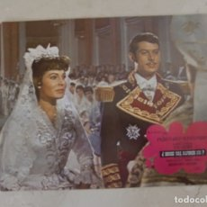 Cine: DONDE VAS ALFONSO XII? / VICENTE PARRA, PAQUITA RICO, / JUEGO ORIGINAL 8 FOTOCROMOS ESTRENO. Lote 179337812