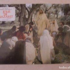 Cine: JESUS DE NAZARET (PARTE I) / FRANCO ZEFFIRELLI / JUEGO COMPLETO ORIGINAL 12 FOTOCROMOS ESTRENO. Lote 179337970