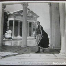 Cine: SPARTACUS ESPARTACO - FOTO ORIGINAL B/N - LAURENCE OLIVIER STANLEY KUBRICK. Lote 180029132