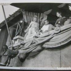 Cine: SPARTACUS ESPARTACO - FOTO ORIGINAL B/N - LAURENCE OLIVIER NINA FOCH STANLEY KUBRICK. Lote 180029973