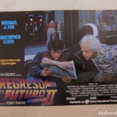 Cine: REGRESO AL FUTURO II (2 FOTOCROMOS) + REGRESO AL FUTURO III (5 FOTOCROMOS) ORIGINALES ESTRENO. Lote 180039407