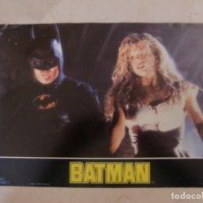 Cine: BATMAN (3 FOTOCROMOS) + BATMAN VUELVE (5 FOTOCROMOS) + BATMAN FOREVER (3 FOTOCR) ORIGINALES ESTRENO. Lote 180039888
