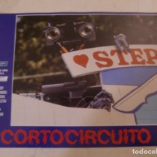 Cine: CORTOCIRCUITO / ALLY SHEEDY, STEVE GUTTENBERG / JUEGO 6 FOTOCROMOS ORIGINALES ESTRENO. Lote 180040412