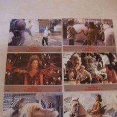 Cine: LA HISTORIA INTERMINABLE II / GEORGE MILLER / JUEGO 6 FOTOCROMOS ORIGINALES ESTRENO. Lote 180041042