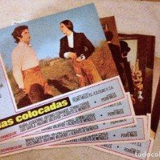 Cine: 5 LOBBY CARDS DE LAS COLOCADAS (1972). DIR.: PEDRO MASÓ. CON TERESA GIMPERA. Lote 180151810