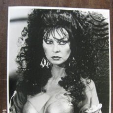 Cine: CASSANDRA PETERSON - FOTO ORIGINAL B/N - ALLAN QUATERMAIN AND THE LOST CITY. Lote 180166490