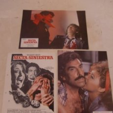 Cine: SECTA SINIESTRA / CONCHA VALERO , IGNACIO F. IQUINO / JUEGO ORIGINAL 3 FOTOCROMOS ESTRENO. Lote 180194298
