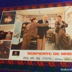 Cine: FOTOCROMO SERPIENTE DE MAR DIRIGIDA POR AMANDO DE OSSORIO CON RAY MILLAND. BUEN ESTADO. RARO.. Lote 180195402