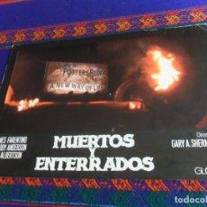 Cine: FOTOCROMO MUERTOS Y ENTERRADOS. RARO.. Lote 180196356