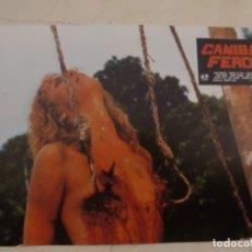 Cine: CANIBAL FEROZ / UMBERTO LENZI / JUEGO COMPLETO ORIGINAL 12 FOTOCROMOS ESTRENO. Lote 180228550