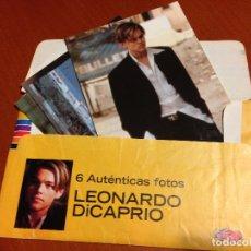 Cine: SUPERPOP 4 AUTENTICAS FOTOS DE LEONARDO DICAPRIO SUPER POP PHOTO PRESS.. Lote 180285105