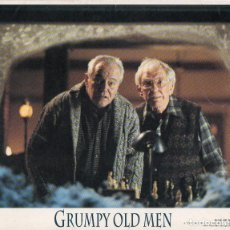 Cine: FOTOGRAFÍA ORIGINAL GRUMPY OLD MEN JACK LEMMON WALTER MATTHAU WARNER BROS 1993. Lote 182173731