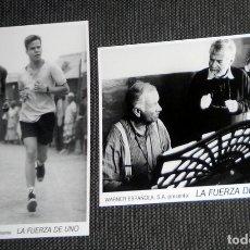 Cine: LOTE FOTO ORIGINAL PRENSA WARNER ESPAÑOLA CINE PELÍCULA LA FUERZA DE UNO. DANIEL CRAIG 1992. Lote 182223001