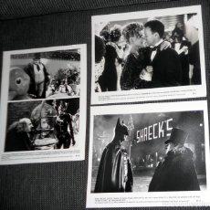 Cine: LOTE FOTO ORIGINAL PARA PRENSA CINE FILM PELÍCULA BATMAN RETURNS. MICHAEL KEATON DEVITO .1992 WARNER. Lote 182223992