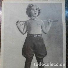 Cine: ANTIGUA FOTO DE SHIRLEY TEMPLE. ÁLBUM CINEMATOGRÁFICO SERIE 1A, N°1 OBSEQUIO DE REVISTA PULGARCITO. Lote 182454813