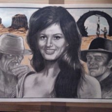 Cine: ERASE UNA VEZ... - DIBUJO ORIGINAL A GRAFITO, FIRMADO. 42X30 CM. (A3).. Lote 182496811