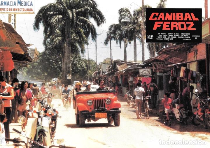 Cine: FOTOCROMOS. CANÍBAL FEROZ - Foto 4 - 182665192