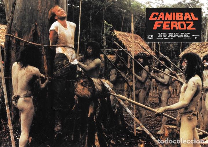 Cine: FOTOCROMOS. CANÍBAL FEROZ - Foto 11 - 182665192