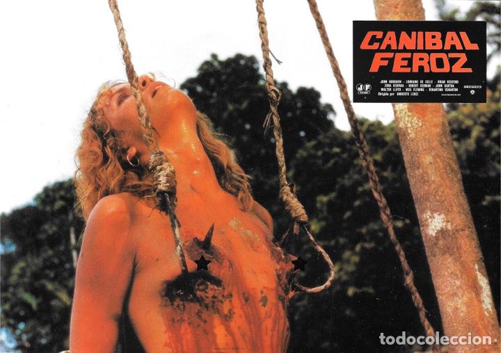 FOTOCROMOS. CANÍBAL FEROZ (Cine - Fotos, Fotocromos y Postales de Películas)
