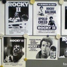 Cinéma: F14677D ROCKY 2 SYLVESTER STALLONE BOXEO 8 FOTOS ORIGINALES B/N AMERICANAS + ESPAÑOLAS. Lote 182855685