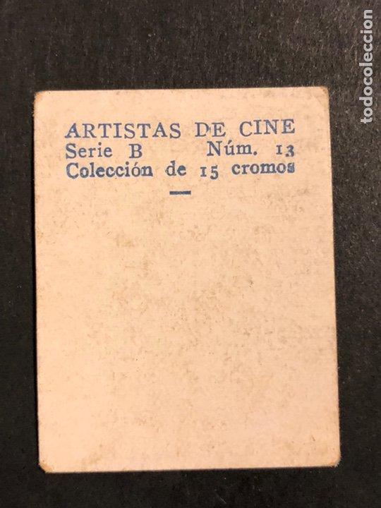 Cine: Cromo 4,5 x 3,5 cm artistas de cine slim summerville - Foto 2 - 182856953