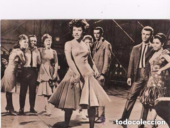 WEST SIDE STORY,POSTAL FOTOGRAFICA- 9X14 CM. - ED. BAKER, BARCELONA (Cine - Fotos, Fotocromos y Postales de Películas)