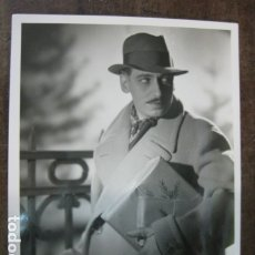Cine: WILLY BIRGEL - FOTO ORIGINAL B/N - GERMAN THEATRE AND FILM ACTOR UFA. Lote 183174003