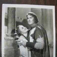 Cine: LAS AVENTURAS DE ROBIN HOOD - FOTO ORIGINAL B/N - ERROL FYNN OLIVIA DE HAVILLAND. Lote 183176623