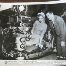 Cine: THE SYSTEM - FOTO ORIGINAL B/N - RODAJE LEWIS SEILER FILMMAKER JOAN WELDON. Lote 183186572