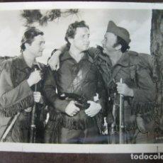 Cine: PASO AL NOROESTE - FOTO ORIGINAL B/N - SPENCER TRACY ROBERT YOUNG WALTER BRENNAN. Lote 183187876