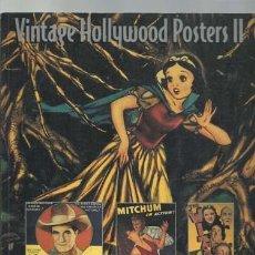 Cine: VINTAGE HOLLYWOOD POSTERS II, 1999, MUY BUEN ESTADO. Lote 183372537