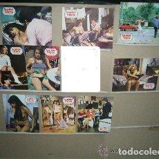 Cine: SEXUALIDAD PELIGROSA CLASIFICADA S 9 FOTOCROMOS ORIGINALES B(1164). Lote 183548291